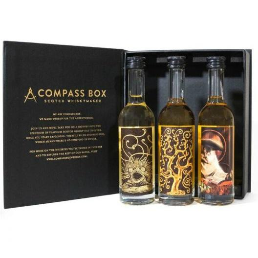 Compass Box Signature Gift Set - Grain & Vine | Curated Wines, Rare Bourbon and Tequila Collection