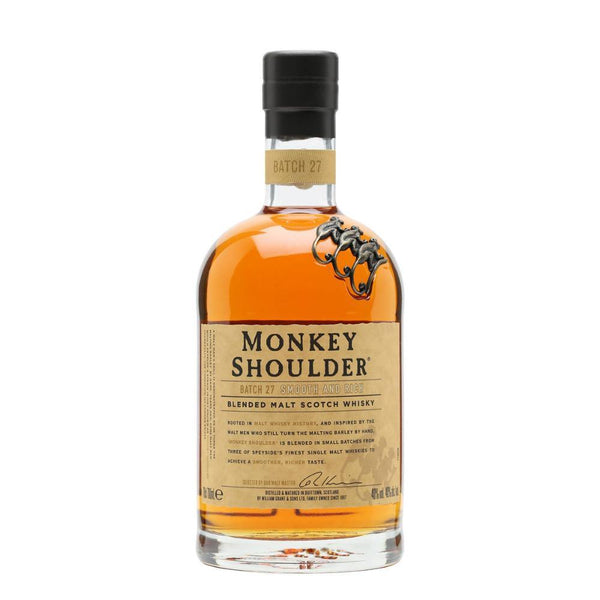 Monkey Shoulder Blended Malt Scotch Whisky - Grain & Vine | Curated Wines, Rare Bourbon and Tequila Collection