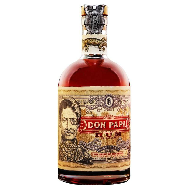 Don Papa Small Batch Rum - Grain & Vine | Curated Wines, Rare Bourbon and Tequila Collection