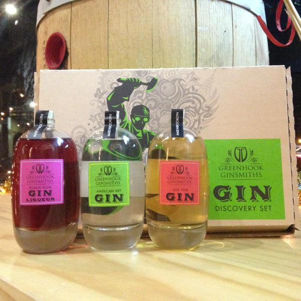 Greenhook Ginsmiths Gin Gift Set - Grain & Vine | Curated Wines, Rare Bourbon and Tequila Collection