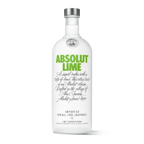 Absolut Vodka Lime - Grain & Vine | Curated Wines, Rare Bourbon and Tequila Collection