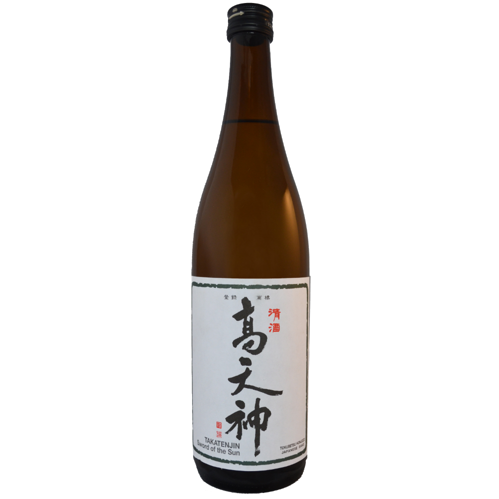 Takatenjin Sword of the Sun Tokubetsu Honjozo Sake - Grain & Vine | Curated Wines, Rare Bourbon and Tequila Collection