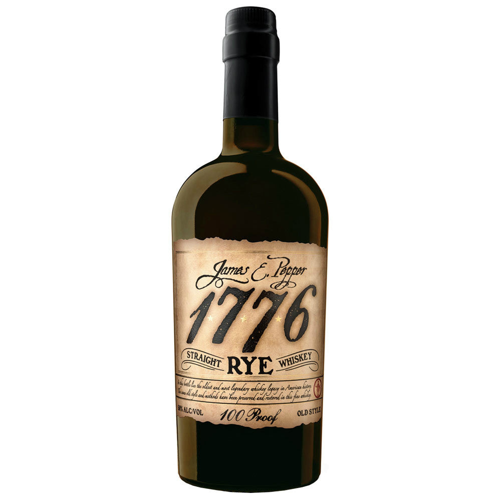 James E. Pepper 1776 Straight Rye Whiskey - Grain & Vine | Curated Wines, Rare Bourbon and Tequila Collection