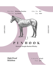 Pinhook Bohemian High Proof Kentucky Straight Bourbon Whiskey - Grain & Vine | Curated Wines, Rare Bourbon and Tequila Collection