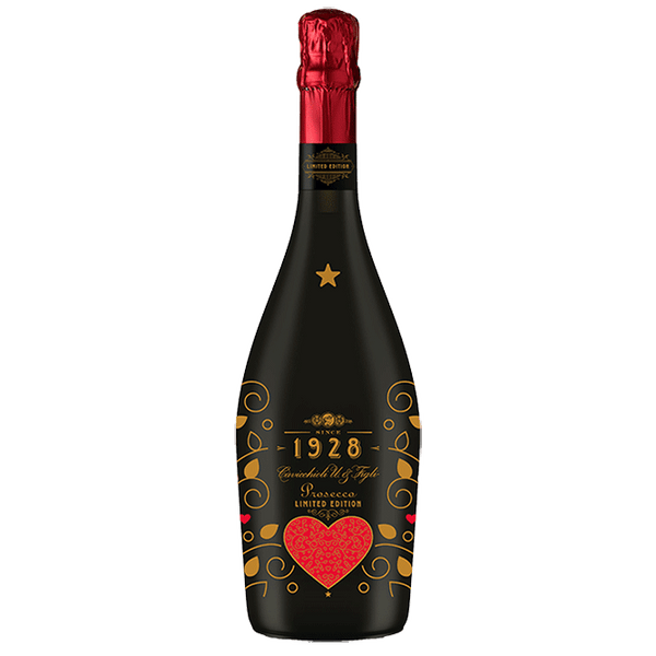"Cavicchioli 1928 ""Love"" Limited Edition DOC Spumante Extra Dry Prosecco - Grain & Vine 