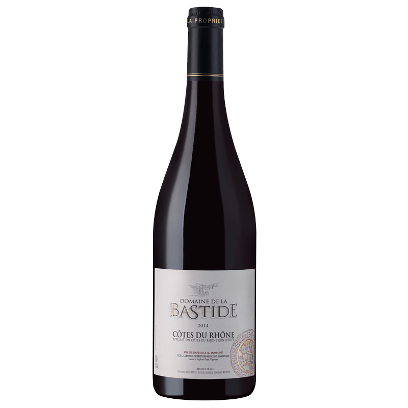 Domaine de la Bastide Cotes du Rhone Rouge - Grain & Vine | Curated Wines, Rare Bourbon and Tequila Collection