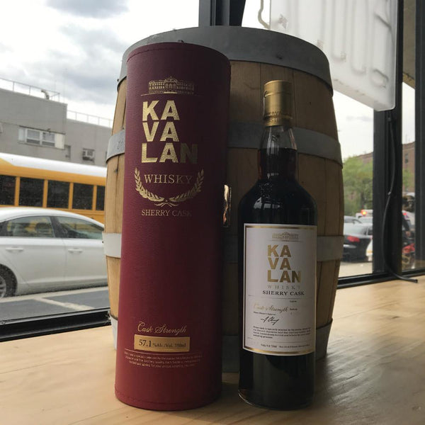 Kavalan Sherry Cask Strength Whisky - Grain & Vine | Curated Wines, Rare Bourbon and Tequila Collection
