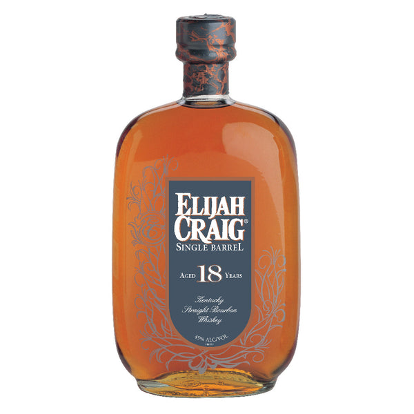 Elijah Craig 18 Years Old Single Barrel Kentucky Straight Bourbon Whiskey - Grain & Vine | Curated Wines, Rare Bourbon and Tequila Collection