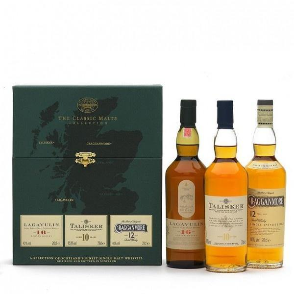 The Classic Malts Collection (Lagavulin 16yrs/Talisker 10 yrs/Cragganmore 12 yrs) Gift Set - Grain & Vine | Curated Wines, Rare Bourbon and Tequila Collection