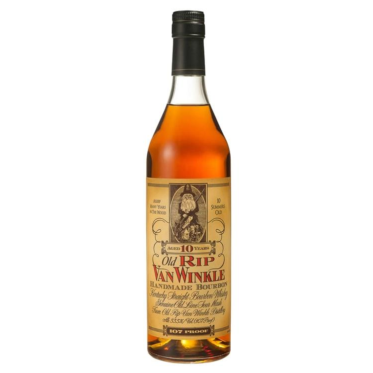 Old Rip Van Winkle 10 Years Old Kentucky Straight Bourbon Whiskey 107 Proof - Grain & Vine | Curated Wines, Rare Bourbon and Tequila Collection