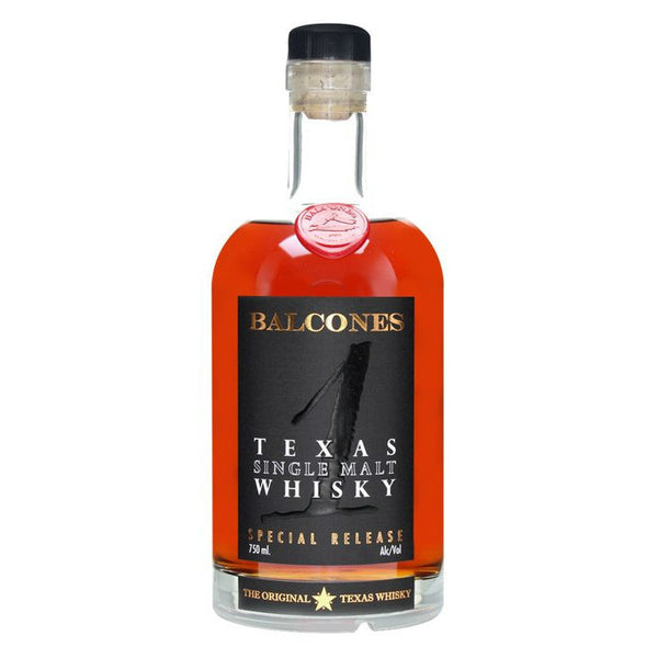 Balcones Texas Single Malt Whisky - Grain & Vine | Curated Wines, Rare Bourbon and Tequila Collection