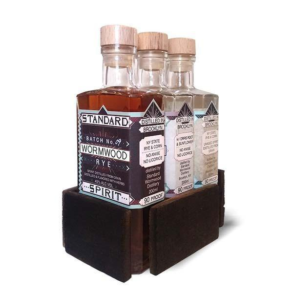 Standard Spirit Distillery 3 Pack Gift Set - Grain & Vine | Curated Wines, Rare Bourbon and Tequila Collection