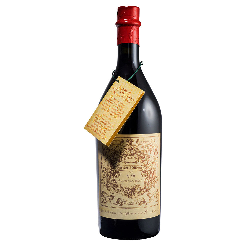 Carpano Vermouth Antica Formula - Grain & Vine | Curated Wines, Rare Bourbon and Tequila Collection