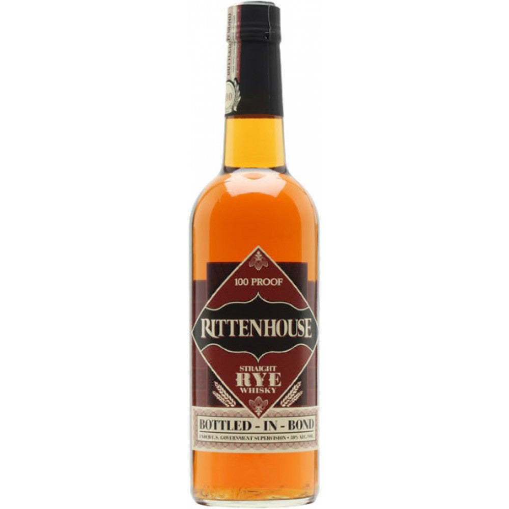 Rittenhouse Straight Rye Whiskey - Grain & Vine | Curated Wines, Rare Bourbon and Tequila Collection