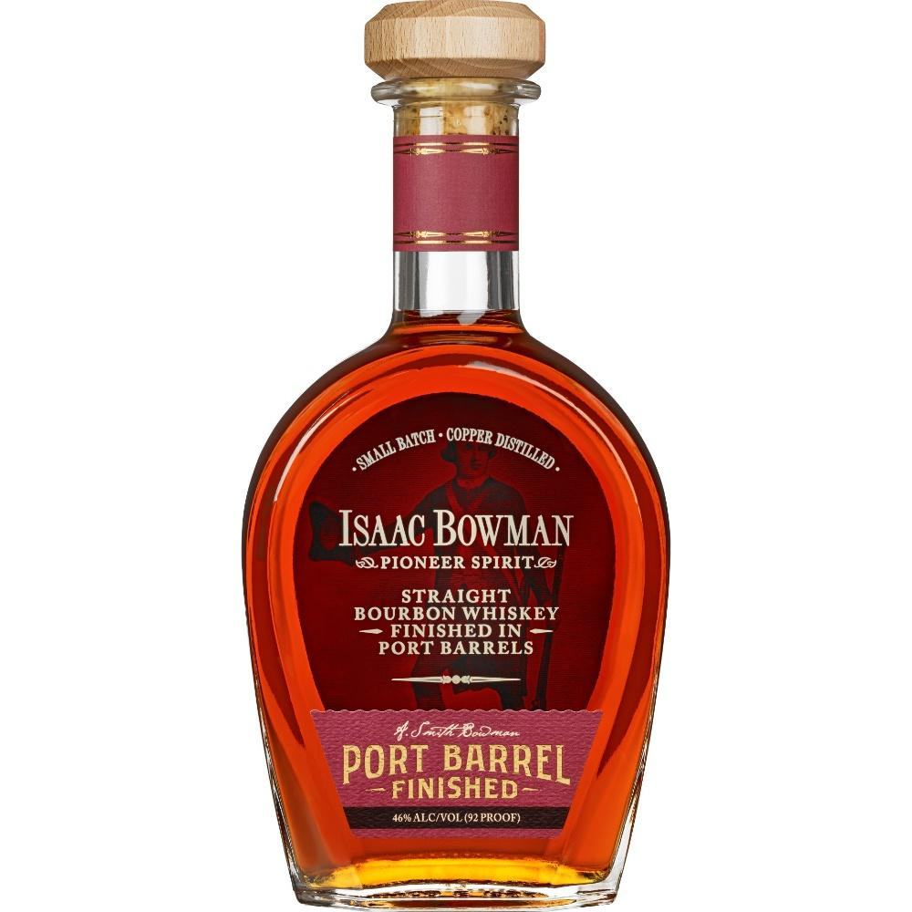 Isaac Bowman Bourbon Whiskey Finished Port Barrel - Grain & Vine | Curated Wines, Rare Bourbon and Tequila Collection