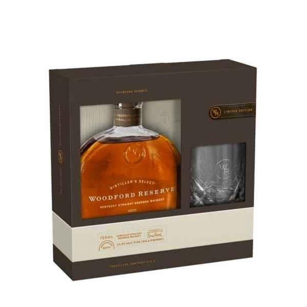 Woodford Reserve Kentucky Straight Bourbon Whiskey Gift Set