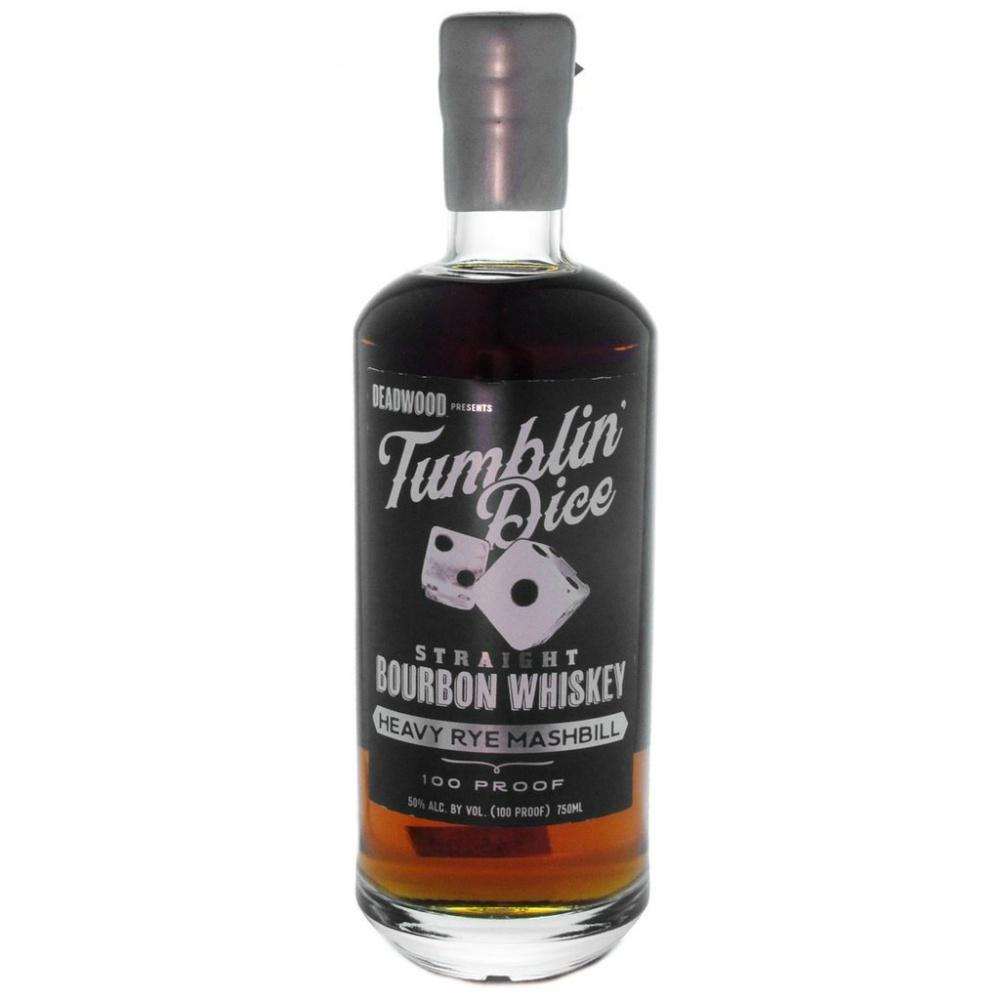 Deadwood Tumblin' Dice 3 Year Old Heavy Rye Mashbill Straight Bourbon Whiskey - Grain & Vine | Curated Wines, Rare Bourbon and Tequila Collection