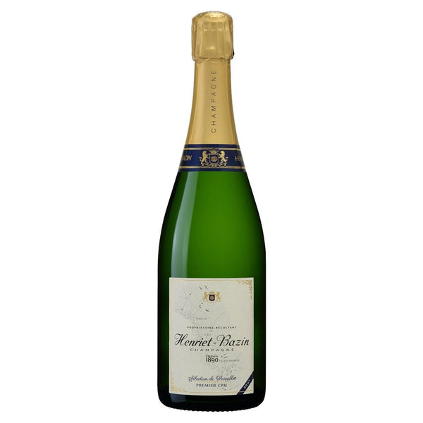 Henriet-Bazin Champain Brut 1er Cru Selection de Parcelles - Grain & Vine | Curated Wines, Rare Bourbon and Tequila Collection