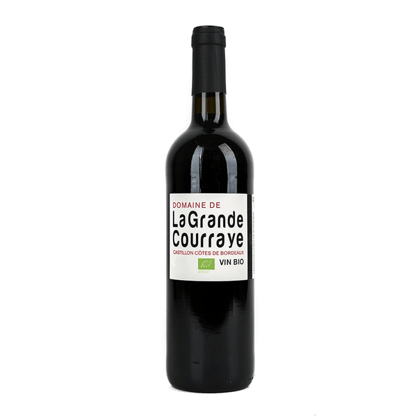 Domaine de la Grande Courraye Castillon Cotes de Bordeaux - Grain & Vine | Curated Wines, Rare Bourbon and Tequila Collection