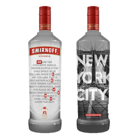 Smirnoff Vodka NYC Limited Edition - Grain & Vine | Curated Wines, Rare Bourbon and Tequila Collection