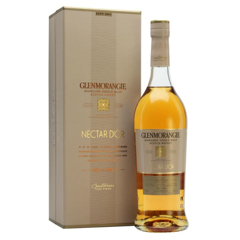 Glenmorangie The Nectar d'Or  12 Years Old Highland Single Malt Scotch Whisky - Grain & Vine | Curated Wines, Rare Bourbon and Tequila Collection