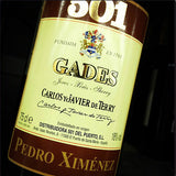 Bodegas 501 Pedro Ximenez Viejo Gades - Grain & Vine | Curated Wines, Rare Bourbon and Tequila Collection