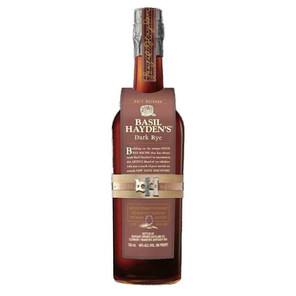 Basil Hayden Dark Rye Kentucky Straight Rye Whiskey - Grain & Vine | Curated Wines, Rare Bourbon and Tequila Collection