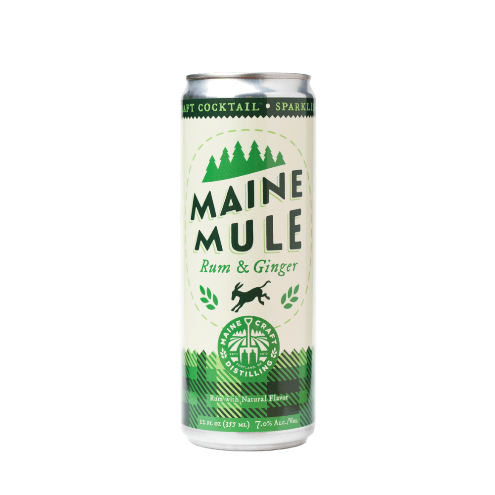Maine Craft Distilling Mule Rum and Ginger