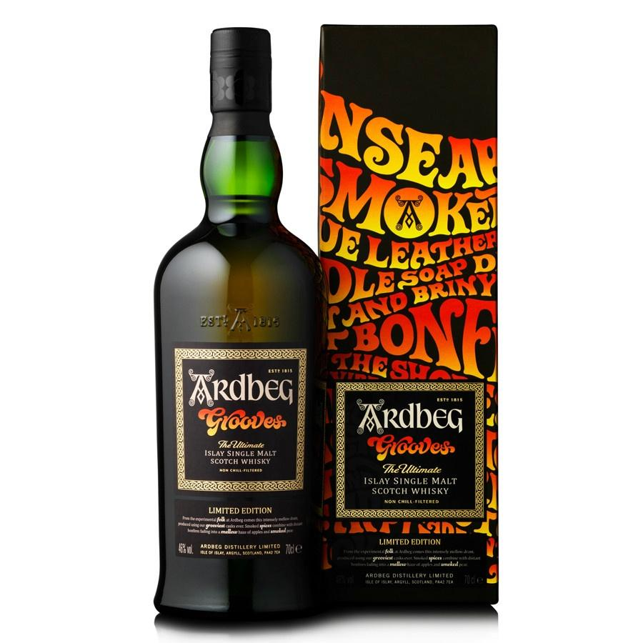 Ardbeg Grooves Limited Edition Islay Single Malt Scotch Whisky - Grain & Vine | Curated Wines, Rare Bourbon and Tequila Collection