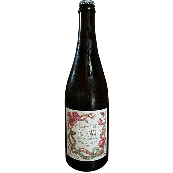 Claverach Farm Pet-Nat Rose - Grain & Vine | Curated Wines, Rare Bourbon and Tequila Collection