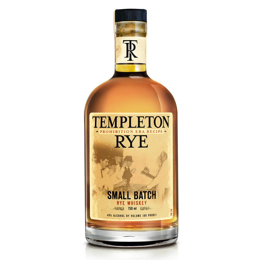 Templeton 4 Years Rye Whiskey - Grain & Vine | Curated Wines, Rare Bourbon and Tequila Collection