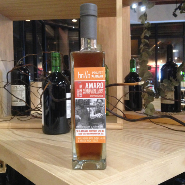 BroVo Project Amaro NYC Simo/Wallace - Grain & Vine | Curated Wines, Rare Bourbon and Tequila Collection