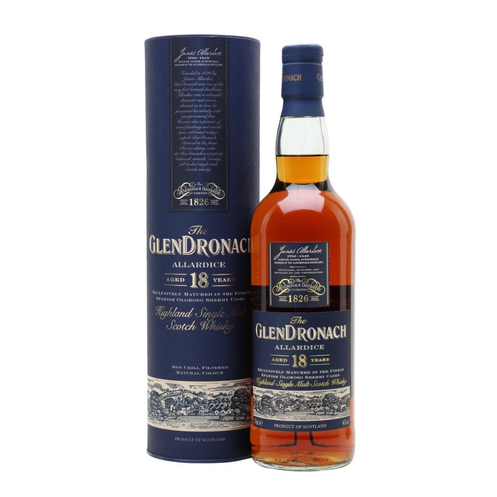 The GlenDronach Allardice 18 Years Highland Single Malt Scotch Whisky - Grain & Vine | Curated Wines, Rare Bourbon and Tequila Collection
