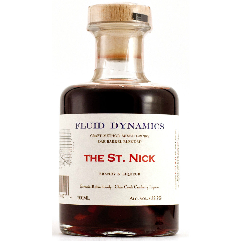 Fluid Dynamics The St. Nick Barrel-Aged Cocktail - Grain & Vine | Curated Wines, Rare Bourbon and Tequila Collection