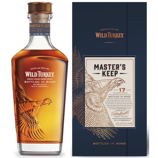 Wild Turkey 17 Years Master's Keep Bottle in Bond Kentucky Straight Bourbon Whiskey
