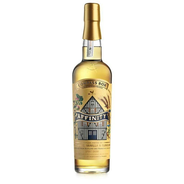 Compass Box Affinity Scotch Whisky and Calvados Blend - Grain & Vine | Curated Wines, Rare Bourbon and Tequila Collection