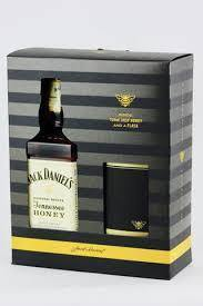 Jack Daniel's Original Tennesse Honey Whiskey Gift Set - Grain & Vine | Curated Wines, Rare Bourbon and Tequila Collection