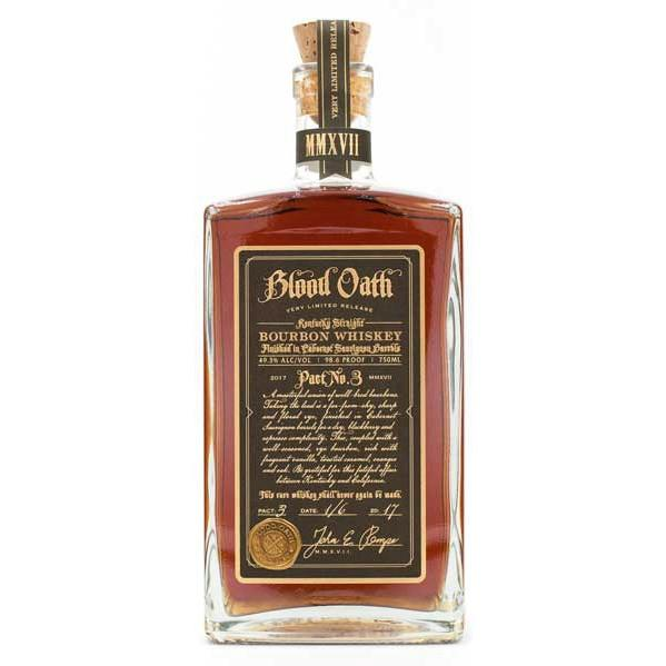 Blood Oath Pact No.3 Kentucky Straight Bourbon Whiskey - Grain & Vine | Curated Wines, Rare Bourbon and Tequila Collection