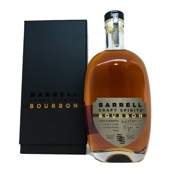 Barrell Craft Spirits Limited Edition Bourbon - Grain & Vine | Curated Wines, Rare Bourbon and Tequila Collection