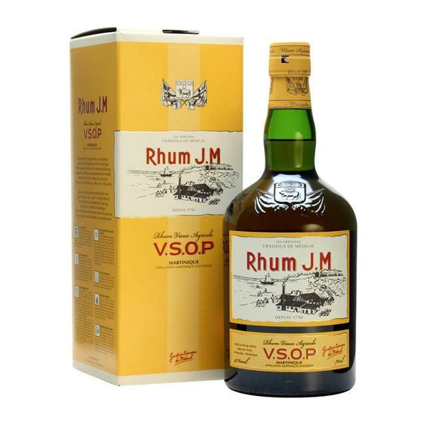 Rhum J.M VSOP Rum - Grain & Vine | Curated Wines, Rare Bourbon and Tequila Collection
