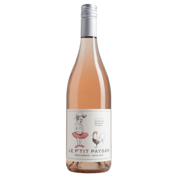 Le P'tit Paysan Pierre's Pirouette  Central Coast Rose - Grain & Vine | Curated Wines, Rare Bourbon and Tequila Collection