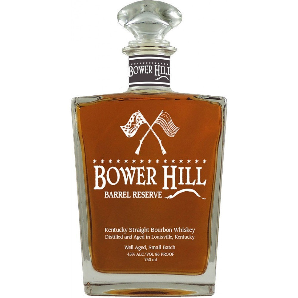 Bower Hill Barrel Reserve Kentucky Straight Bourbon Whiskey - Grain & Vine | Curated Wines, Rare Bourbon and Tequila Collection