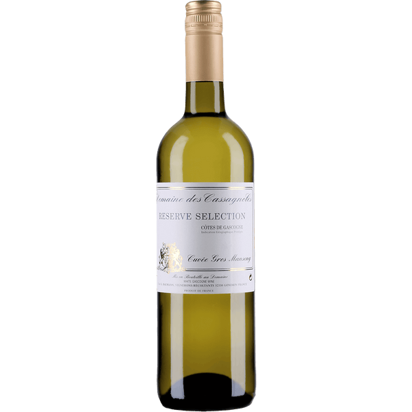 Domaine des Cassagnoles Reserve Selection Cuvee Gros Manseng - Grain & Vine | Curated Wines, Rare Bourbon and Tequila Collection