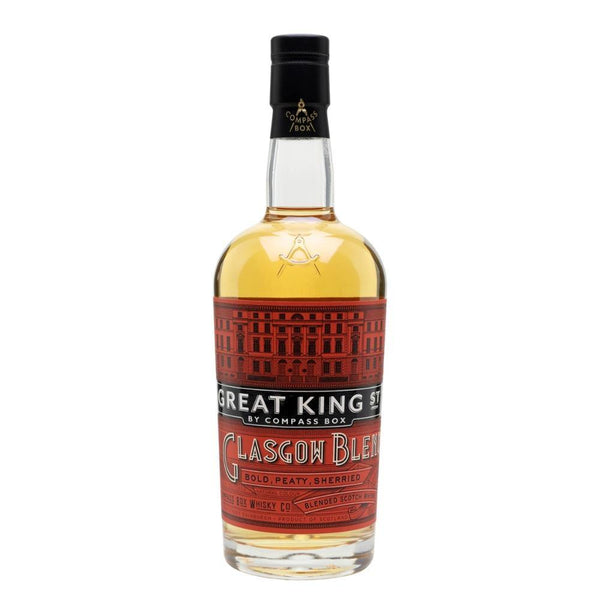 Great King Street Glasgow Blend Scotch Whisky - Grain & Vine | Curated Wines, Rare Bourbon and Tequila Collection