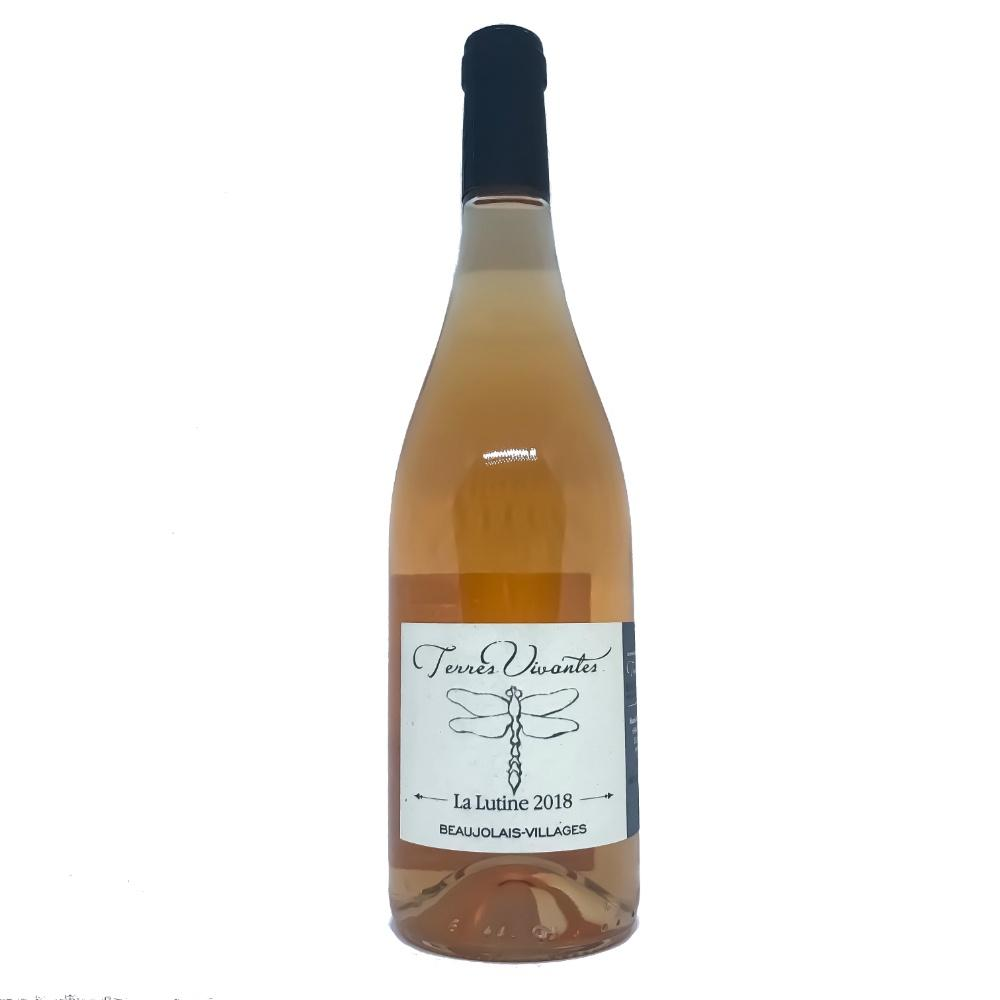 "Domaine des Terres Vivantes ""La Lutine"" Beaujolais-Villages Rose - Grain & Vine 