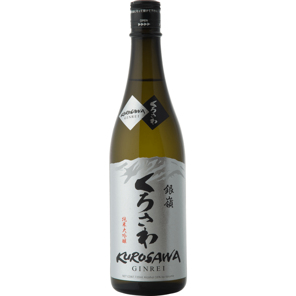 Kurosawa Ginrei Junmai Daiginjo Sake - Grain & Vine | Curated Wines, Rare Bourbon and Tequila Collection