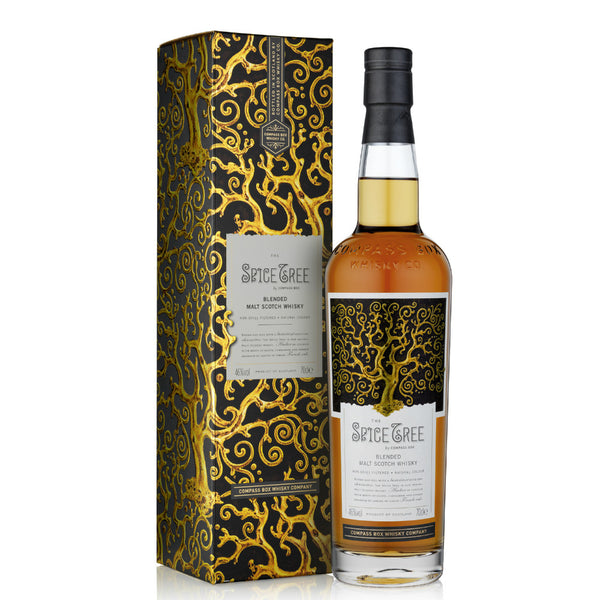 Compass Box Spice Tree Malt Scotch Whisky - Grain & Vine | Curated Wines, Rare Bourbon and Tequila Collection