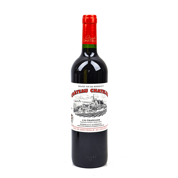 Chateau Chatelier Bordeaux Superieur Rouge - Grain & Vine | Curated Wines, Rare Bourbon and Tequila Collection
