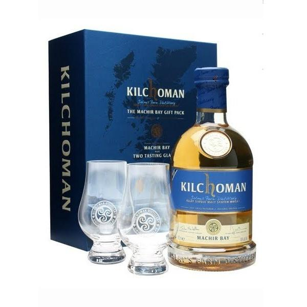 Kilchoman Distillery Machir Bay Single Malt Scotch Whisky Gift Set - Grain & Vine | Curated Wines, Rare Bourbon and Tequila Collection