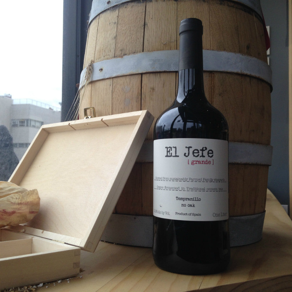 El Jefe No Oak Tempranillo - Grain & Vine | Curated Wines, Rare Bourbon and Tequila Collection